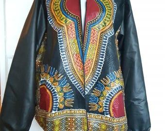 Unisex jacket made of wax