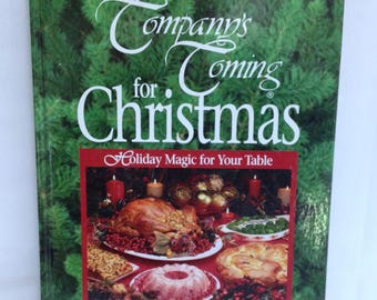 Company's Coming Christmas Cookbook Crafts & Decoration Jean Pare Vintage Cookbook Series Holiday Recipes Christmas Cookies Grandmas Recipes
