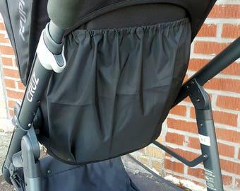 Uppababy Vista storage, Uppababy Cruz storage, stroller bag, custom Uppababy storage bag, Wet Bag, water resistant diaper bag