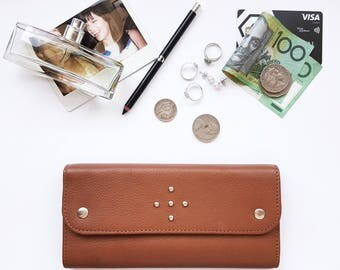 Laneway Wallet - Tan Leather