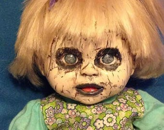 14 inch Creepy Little Lila