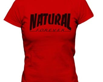 Natural Forever Red Tee