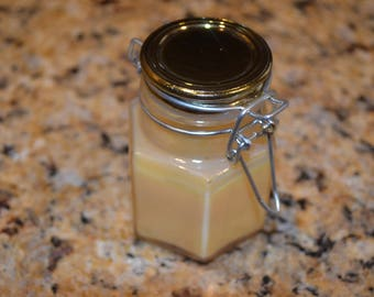 Orange Scented Soy Wax Candle