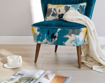 Madlena Mid Century Upcycled Armchair