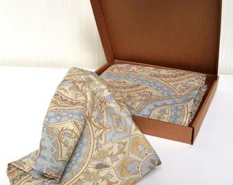 Cloth napkins, set of 6 fabric napkins, cotton napkins 30 x 30 cm, cloth serviettes