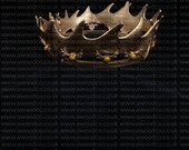 Robert Baratheon Game of Thrones crown  1:1 scale Cosplay - 3D Printed - FREE DELIVERY