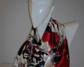 Red Hot - Hand Made Scarves from Purses By Pochette