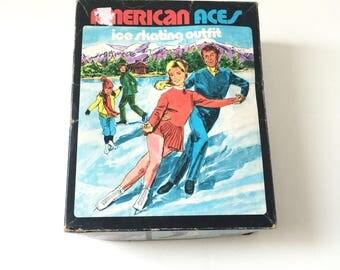 Vintage Girl Size 4 Ice Skates