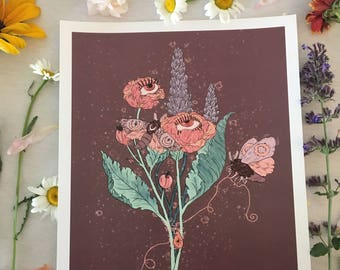 "Art Print • ""Spring Bouquet"" • by Madison Ross"