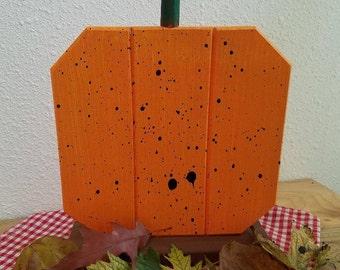 Handmade Wooden Pumpkin