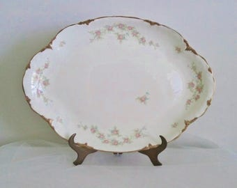 Taylor Smith & Taylor Large Serving Platter // Taylor Smith Platter // Vintage Serving Platter