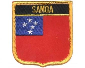 Samoa Patch (Iron on)
