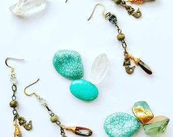 Mermaid Siren Earrings