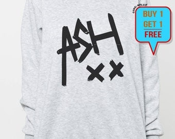 Ashton Irwin sweater women shirt tshirt men sweatshirt ash xx shirt jumper tee long sleeved tshirt black grey tee