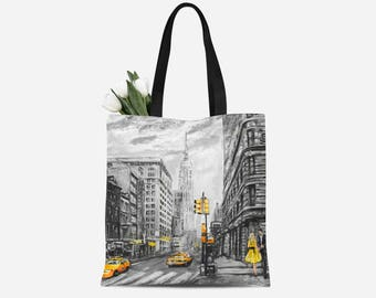New York Canvas Bag | New York Canvas Tote | New York Tote | New York Tote Bag | New York Canvas Tote Bag | New York Gift | New York Bag