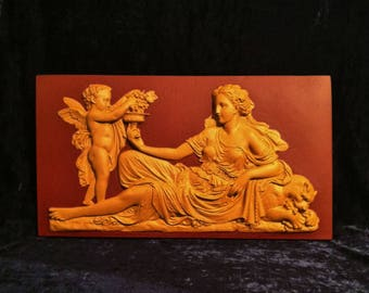 Vintage Eros and Dionysus Wall Frieze