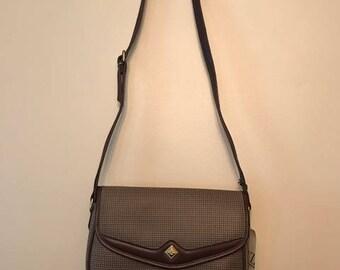 Vintage Bag- Vintage Liz Claiborne Houndstooth Crossbody Bag