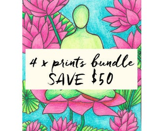PRINT BUNDLE... buy any 4 prints + save