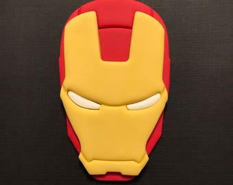 Ironman Inspired Cake Topper-Fondant