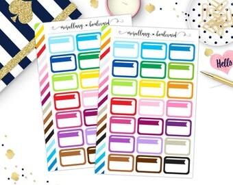 Rainbow Rounded Flagged Half Boxes | 0010 KEEPTHISLISTING