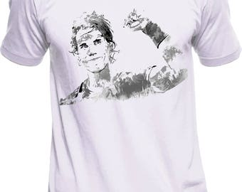 Rafa Nadal Wimbledon t-shirt. All sizes.