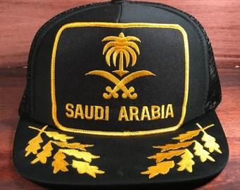 Saudi Arabia Snapback Hat Embroidered