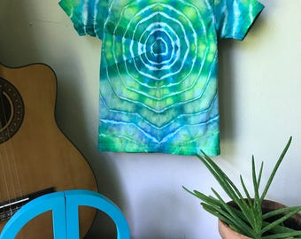 Tie Dye T-shirt - Hippie Shirt - Festival Shirt - Toddler 2T/3T - Watercolor Sonic Boom