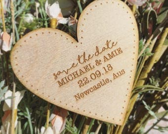 Save the date, save the date magnet, rustic wedding, wedding save the date, wooden save the date, rustic, festival wedding, boho bride