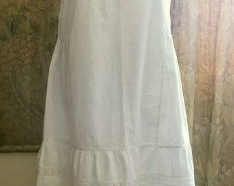 1920's Broderie Anglaise Dress - Plus size
