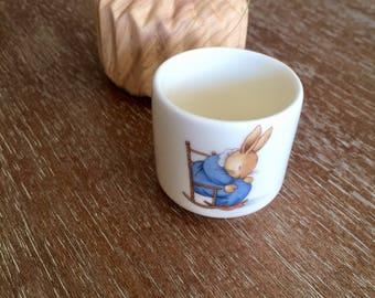 Royal Doulton Bunnykins Egg Cup Small Bone China Cup