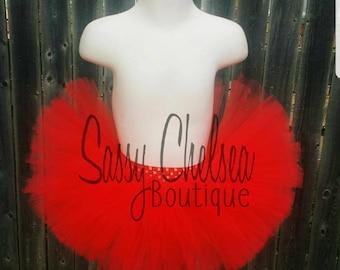 Red tutu.. Red birthday tutu.. Red dress up tutu.. Red newborn tutu.. Red baby girl tutu.. Red smash cake tutu