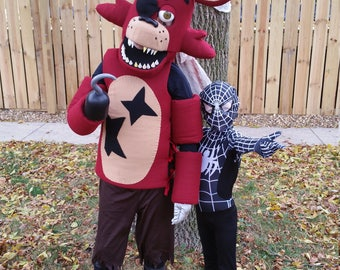 Foxy the Pirate Costume Mask Kids inspired Five Nights at Freddy's