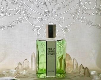 Caron, Pour Un Homme, 500 ml. or 16.9 oz. Flacon, Eau de Toilette, 1934, Paris, France ..