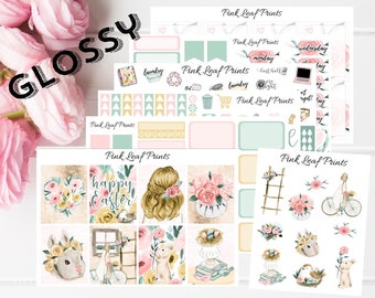 GLOSSY   Easter Sunday    Easter   Weekly Planner Sticker Kit