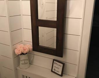 Bathroom Mirrors Zimbabwe wood mirror | etsy