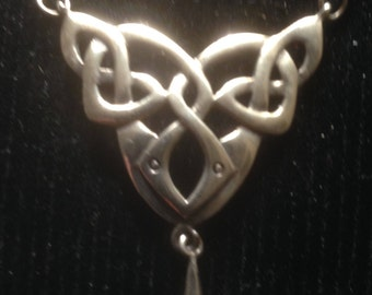 Silver Arts and Crafts Style Pendant