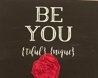 BE YOU wall hanging