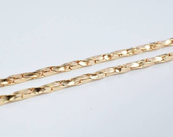 """18K Gold Filled Chain 19.50"""" Inch CG178"""