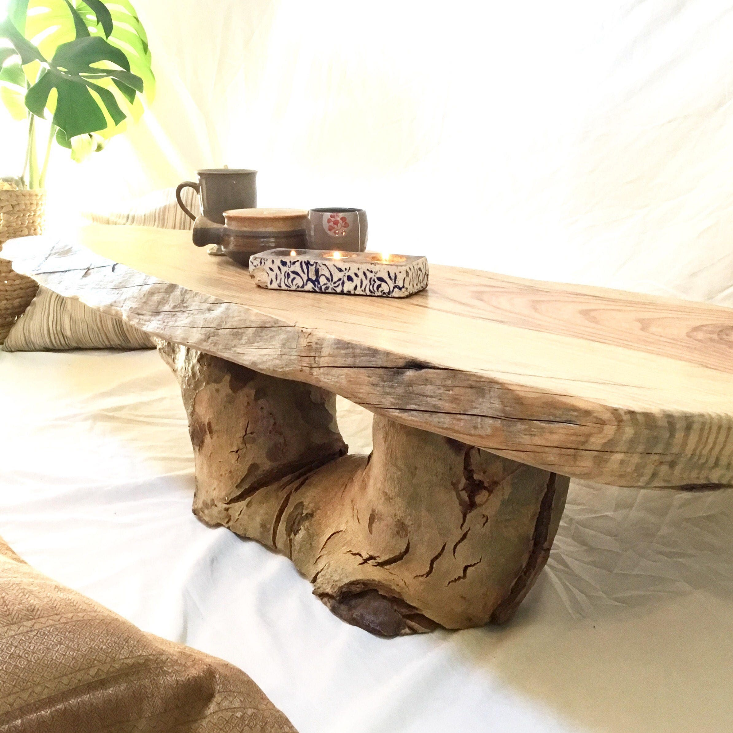 Coffee Table Timber Furniture Perth Wooden Live Edge Rustic OOAK Custom Made Australia
