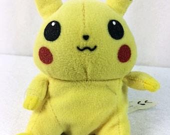 Pokemon  PikachuPlush Stuffed Animal - Vintage - 6 inches