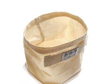 soft canvas basket