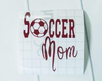 Custom Decal for Tumbler - Soccer Mom Decal - Decal for Yeti Cup - Soccer Mom - Soccer Mom Cup - Custom Decal - Custom Sticker