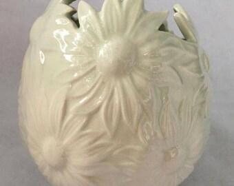 Vintage Daisy Vase