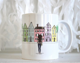 King Street Charleston Coffee Mug