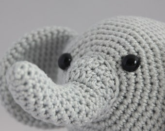 Crochet pattern Otto the elephant