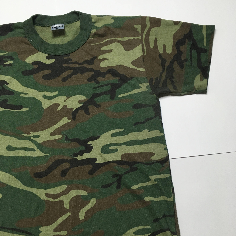 Design t shirt rollerblade - Details Vintage Camo Tshirt