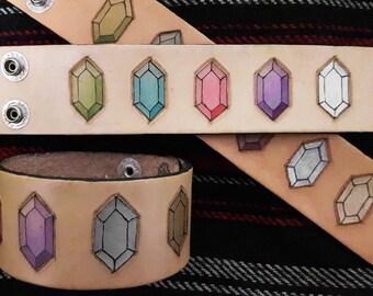Zelda rupees wristband