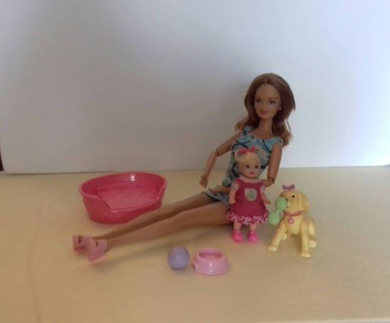 Barbie happy family midge nikky et son chien - Barbie et son chien ...
