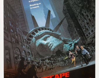 Escape from New York Movie Poster A3 or A4 Matt