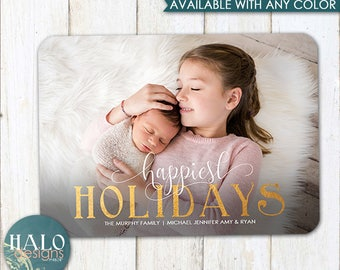 happiest HOLIDAYS - Christmas Cards